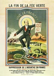 Affiche Anti Absinthe