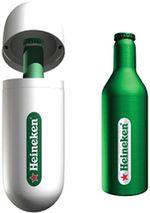 Heineken Bouteille Aluminium 2002