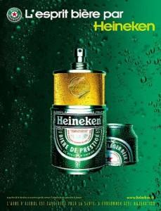 Heineken parfum