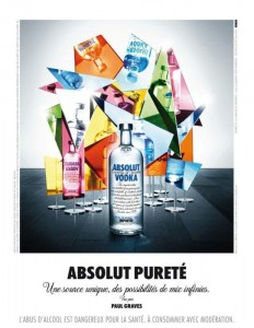 Absolut Vodka Paul Graves