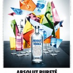 Affiche Absolut Pureté Mirroir