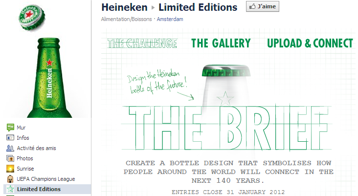Application Limited Editions d'Heineken