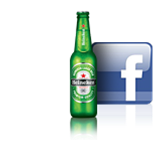Logos Heineken et Facebook
