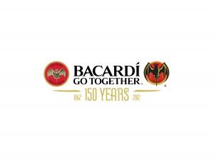 Logo 150 ans de Bacardi