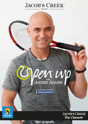 Affiche Agassi pour Jacob's Creek