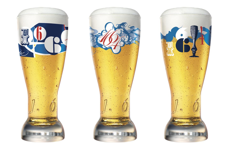 Verre à bière sans marque 25cl  deforest.be