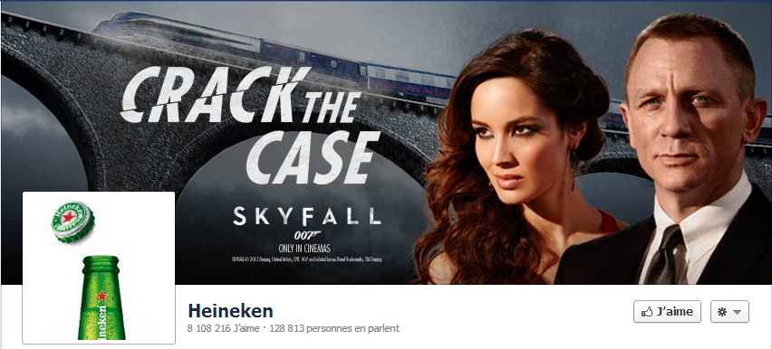 Crack the case - Heineken - Skyfall