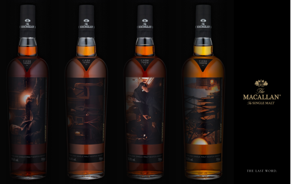 Editions limitées The Macallan par Annie Leibovitz
