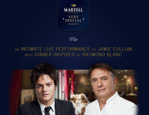 Martel Very Special Nights - Raymond Blanc & Jamie Cullum