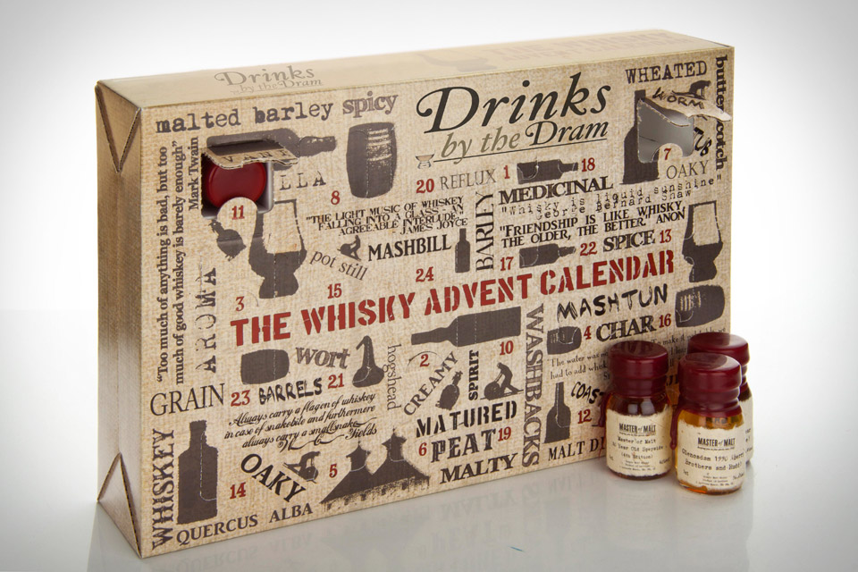 Calendrier version whisky