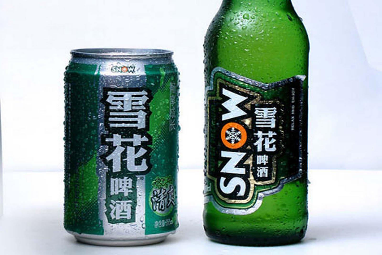 Bière Snow Chine