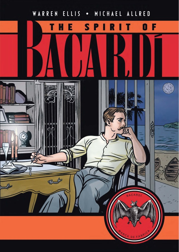 The Spirit of Bacardi Bande dessinée