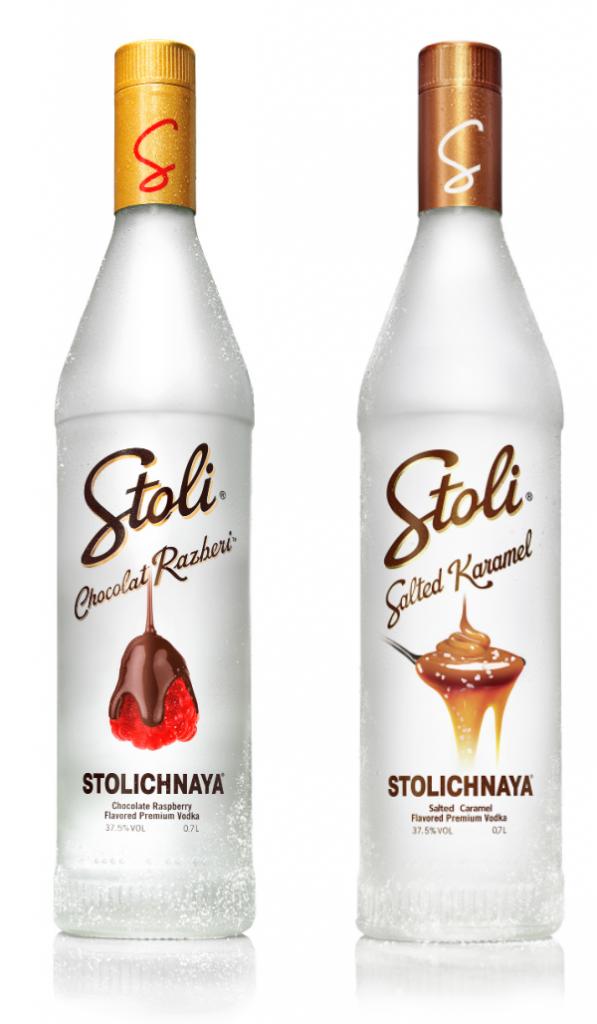 Stoli aromatisé chocolat framboise caramel