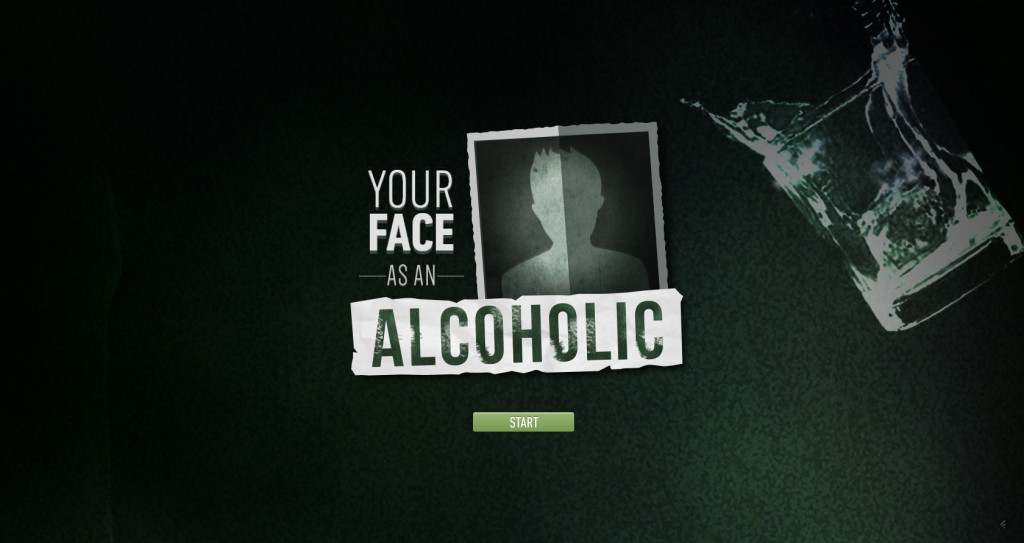 You re face alcoholic