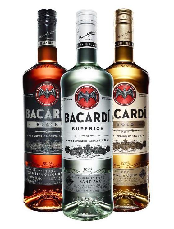 Bacardi Rhum bouteille