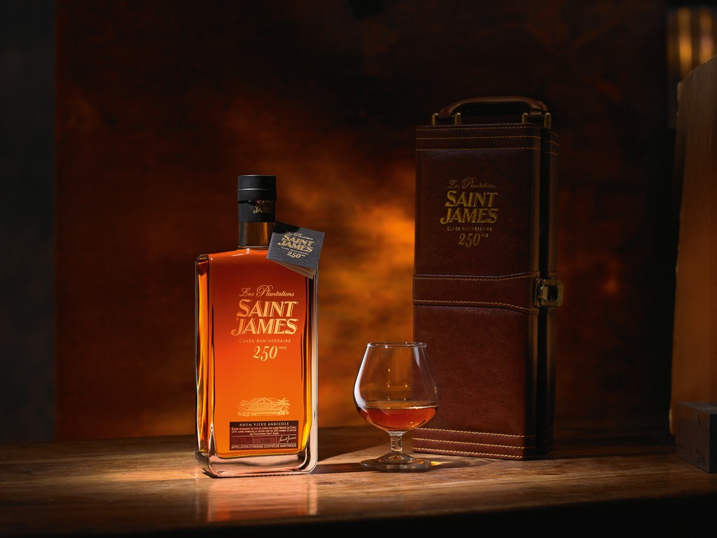 Rhum Saint James 250 ans