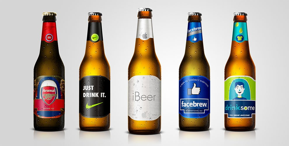 Facebook Apple Bière