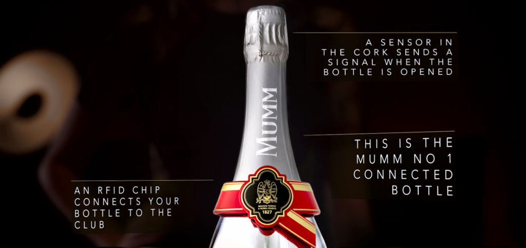 Mumm Connected Bottle