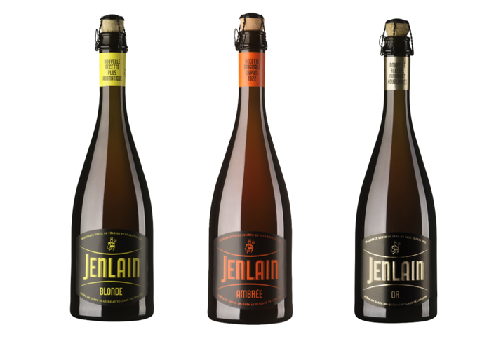 Jenlain packaging