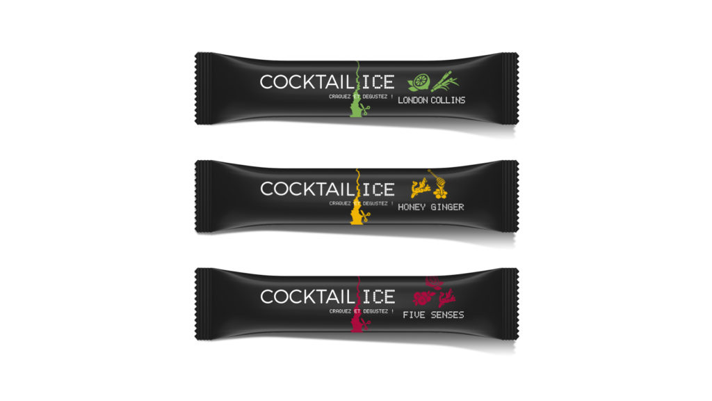 Dosettes Cocktail Ice Label 5