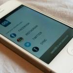 Application mobile tshirtOS
